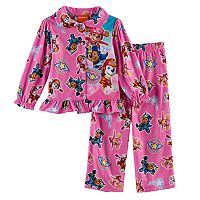 Toddler Girl Paw Patrol 2 pc Skye, Marshall & Chase Top & Pants Pajama Set