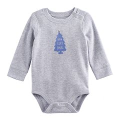Baby Boy Jumping Beans® Graphic Shoulder Snap Thermal Bodysuit