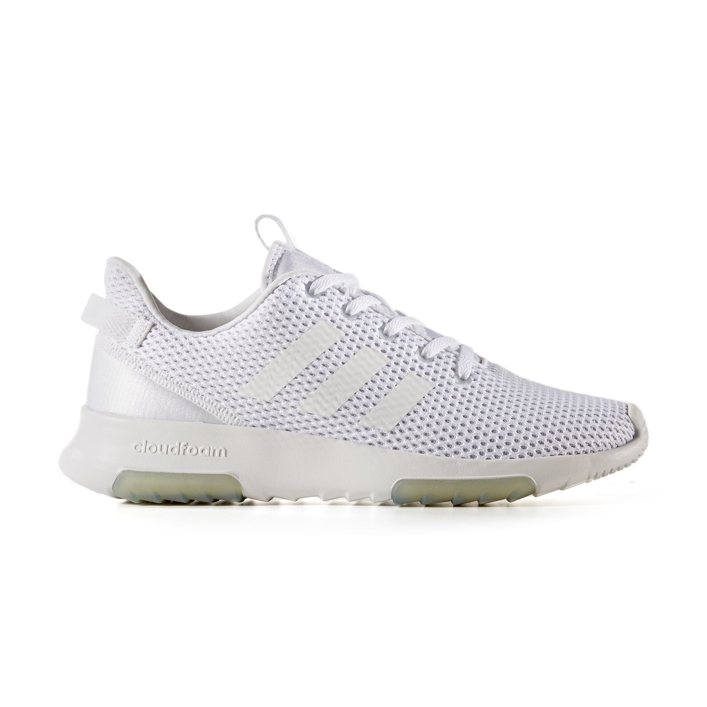 adidas NEO Cloudfoam Racer TR Women\u0027s Sneakers. Gray Pink Black White