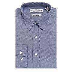 Men's Nick Graham Everywhere Modern-Fit Stretch Dress Shirt
