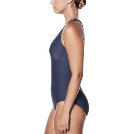 Women's Nike Spliced Racerback One-Piece Swimsuit