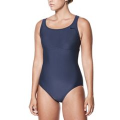 Women's Nike Spliced Racerback One-Piece Swimsuit