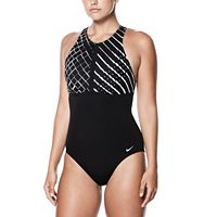 Women's Nike High-Neck One-Piece Swimsuit