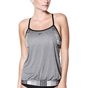 Women's Nike Layered Racerback Sport Tankini Top