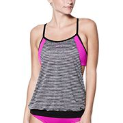 Women's Nike Layered Sport Tankini Top