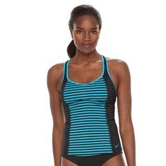 Women's Nike Splice Racerback Tankini Top