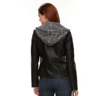 Women's Gallery Faux-Leather Jacket