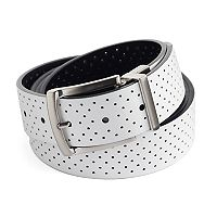 Big & Tall Nike Reversible Perforated Leather Golf Belt