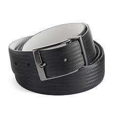 Big & Tall Nike Reversible Textured Leather Golf Belt