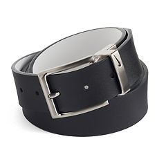 Big & Tall Nike Reversible Leather Golf Belt