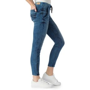 Juniors' DENIZEN from Levi's Zipper Cuff Moto Jogger Jeans