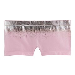 Girls 6-16 Maidenform Foil Seamless Minishorts