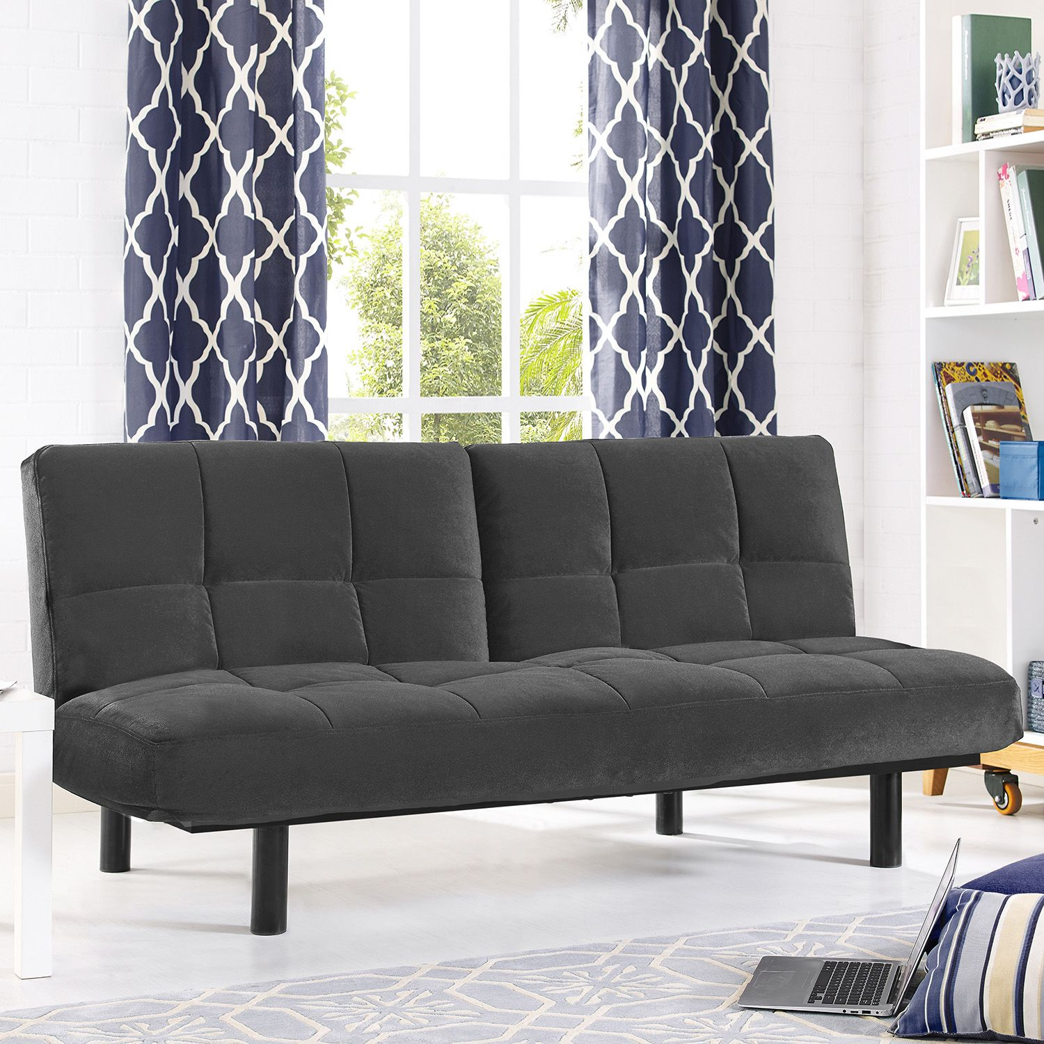 Medium image of serta khloe convertible futon sofa bed