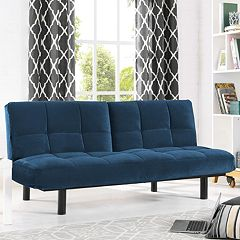 Serta Khloe Convertible Futon Sofa Bed