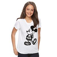 Disney's Mickey Mouse Juniors' Skeleton Graphic Tee