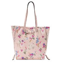 Candie's® Mindy Double Zipper Tote