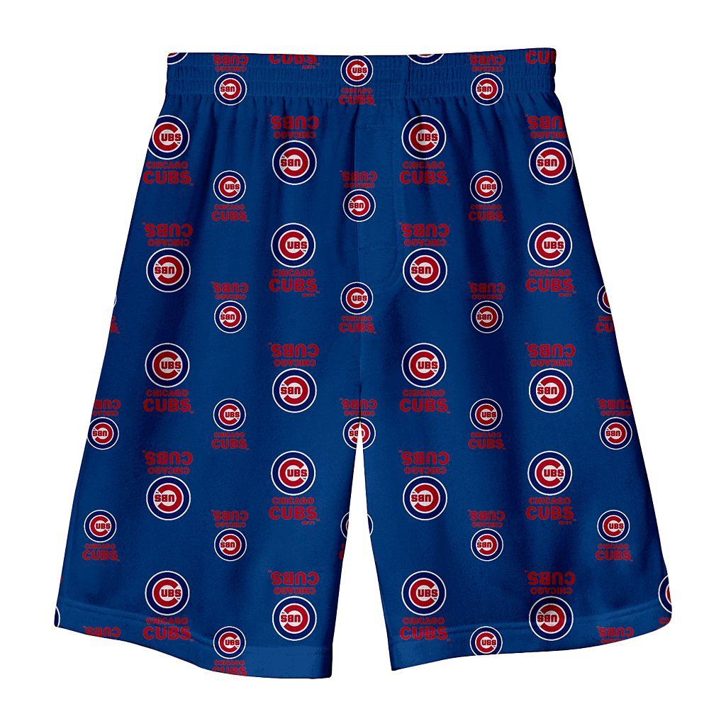 Toddler Chicago Cubs Logo Shorts