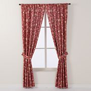 Chaps Home New Canaan Window Curtain Set
