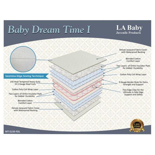 LA Baby Dream Time I Crib Mattress