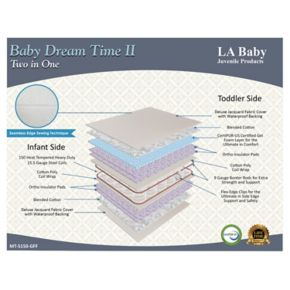LA Baby Dream Time II Crib Mattress