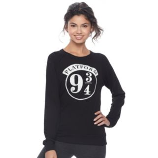 "Juniors' Harry Potter ""Platform"" Graphic Sweatshirt"