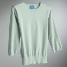 Simply Vera Vera Wang 3/4-Sleeve Pullover Sweater