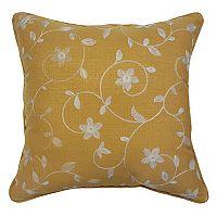 HFI La Mayflower Throw Pillow