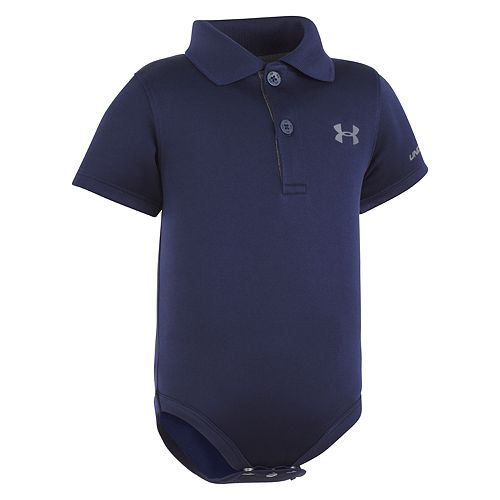 Under Armour Childrens Apparel Baby-Boys Polo Bodysuit NEW
