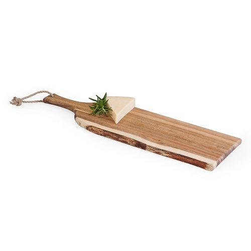 Picnic Time Artisan Acacia Wood Serving Plank