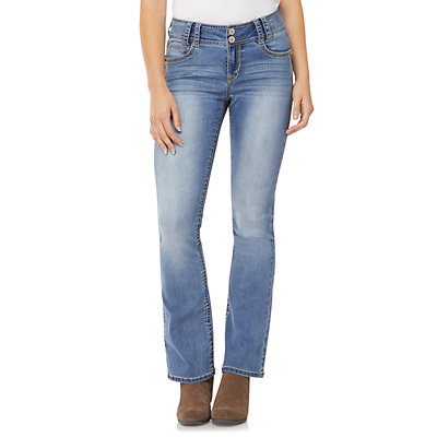 WallFlower Insta Stretch® Midrise Luscious Curvy Bootcut Jeans