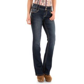 Juniors' WallFlower Luscious Curvy Bootcut Jeans
