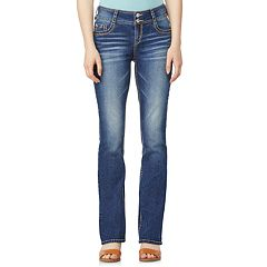 Juniors' WallFlower Luscious Curvy Bootcut Jeans