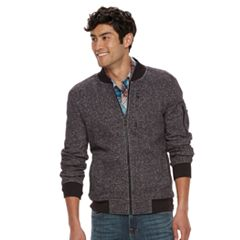 Men's Rock & Republic Textured Bomber Jacket