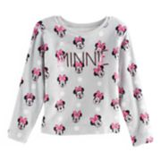 "Disney's Minnie Mouse Girls 7-16 Sequin ""Minnie"" Fleece Pullover"