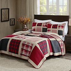 Woolrich 3-piece Huntington Plaid Quilt Set