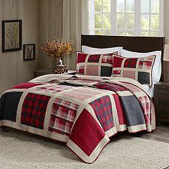Woolrich 3 pc Huntington Plaid Quilt Set
