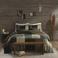 Woolrich 3-piece Winter Hills Plaid Quilt Set