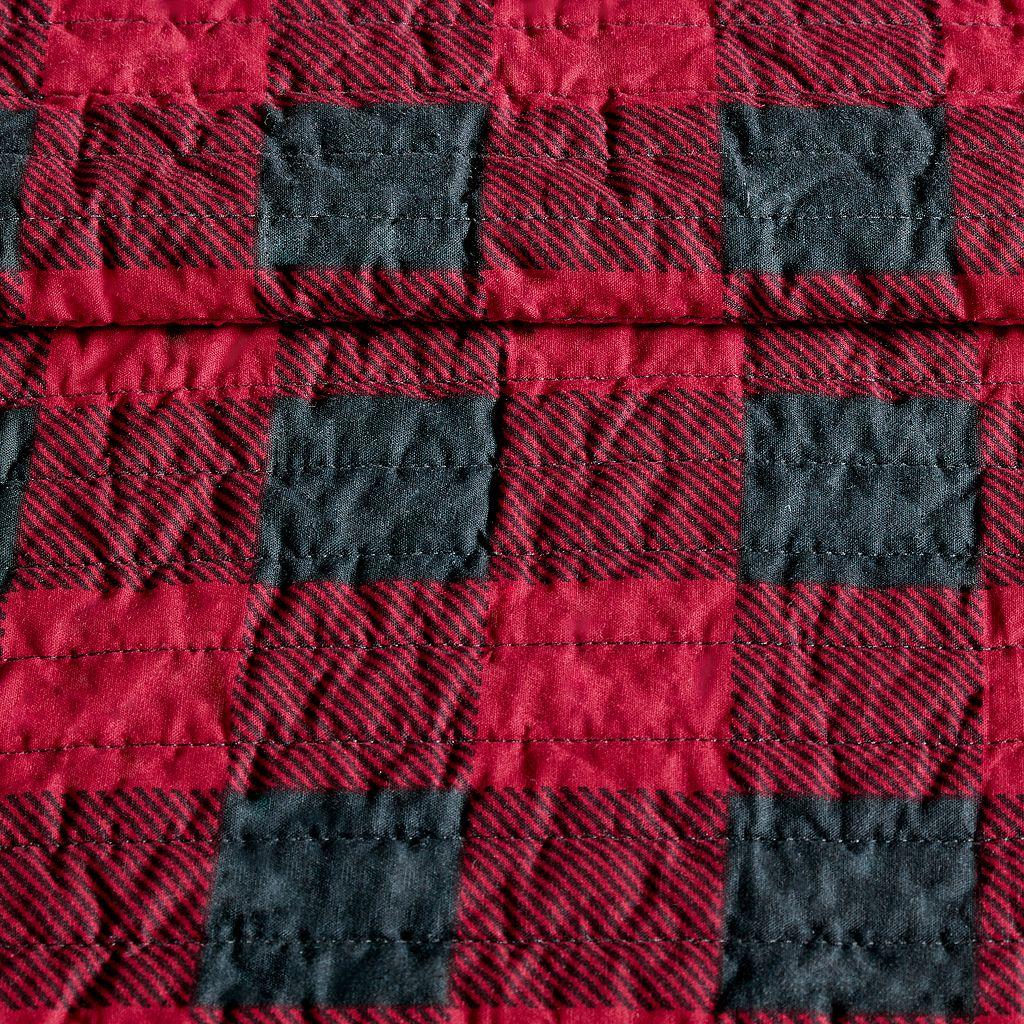 Woolrich 3-piece Buffalo Check Quilt Set