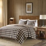 Woolrich 3 pc Buffalo Check Quilt Set