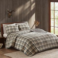 Woolrich 3 pc Tasha Plaid Quilt Set
