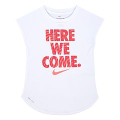 Girls 4-6x Nike Dri-FIT 'Here We Come' Tee