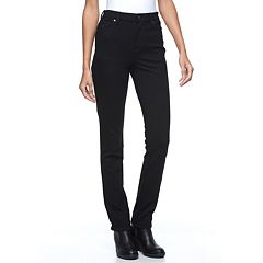 Petite Gloria Vanderbilt Amanda Slimming Tapered Ponte Pants