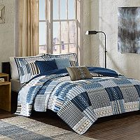 Madison Park 6-piece Kinney Quilted Coverlet Set