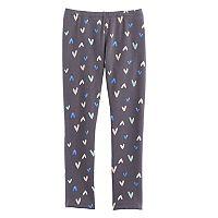 Girls 4-10 Jumping Beans® Fleece-Lined Leggings