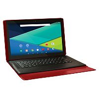 Visual Land Prestige Elite 13Q Quad Core 64GB 13.3-Inch Android 5 Lollipop Tablet with Docking Keyboard Case (ME13QKC64MAG)