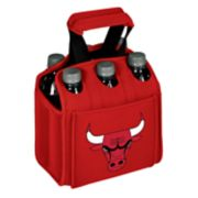 Picnic Time Chicago Bulls Six Pack Insulated Beverage Carrier