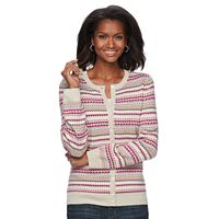 Women's Croft & Barrow® Cozy Cardigan