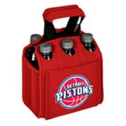 Picnic Time Detroit Pistons Six Pack Insulated Beverage Carrier