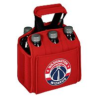 Picnic Time Washington Wizards Six Pack Insulated Beverage Carrier