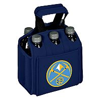 Picnic Time Denver Nuggets Six Pack Insulated Beverage Carrier